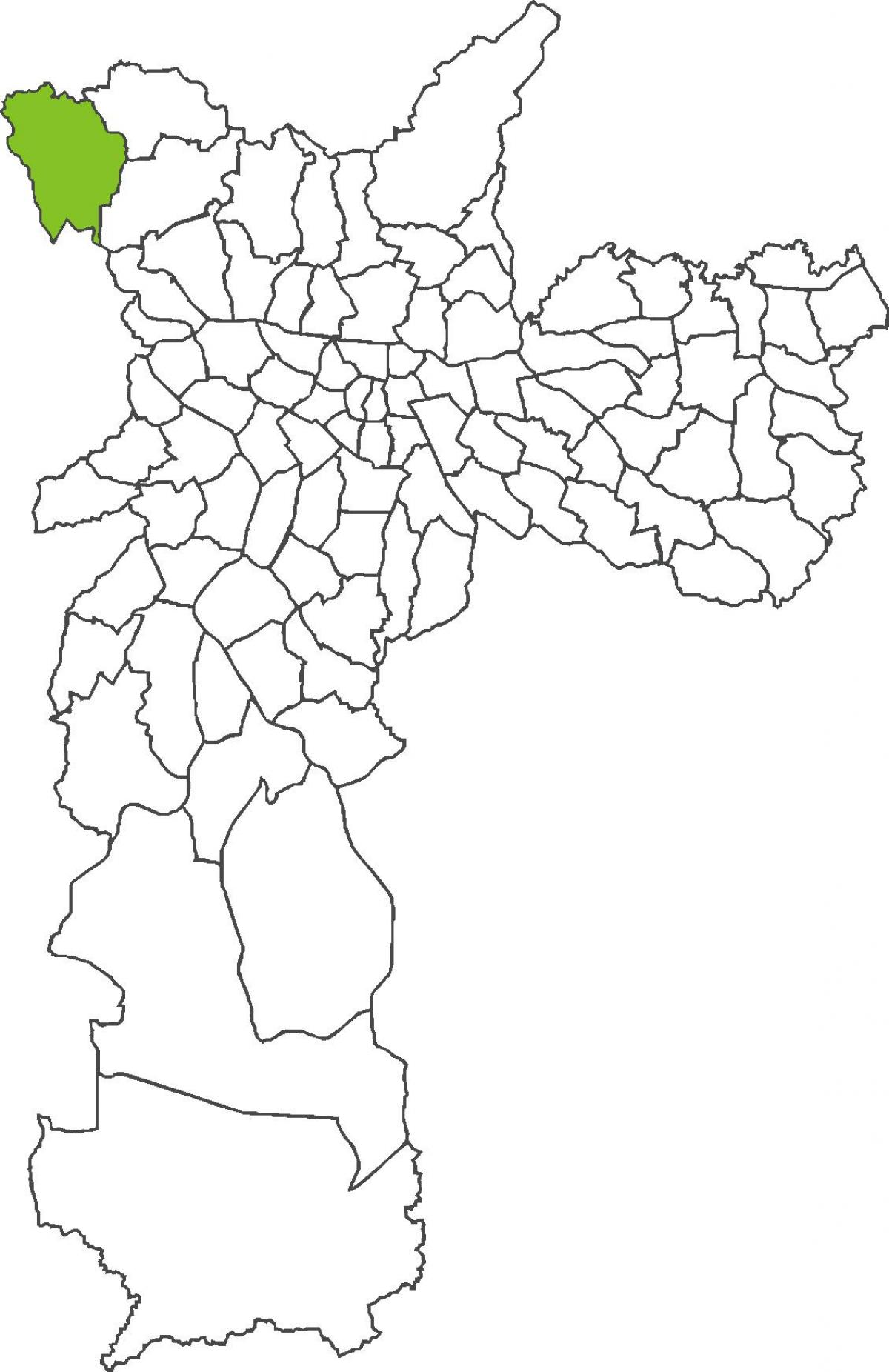 Map of Anhangüera district