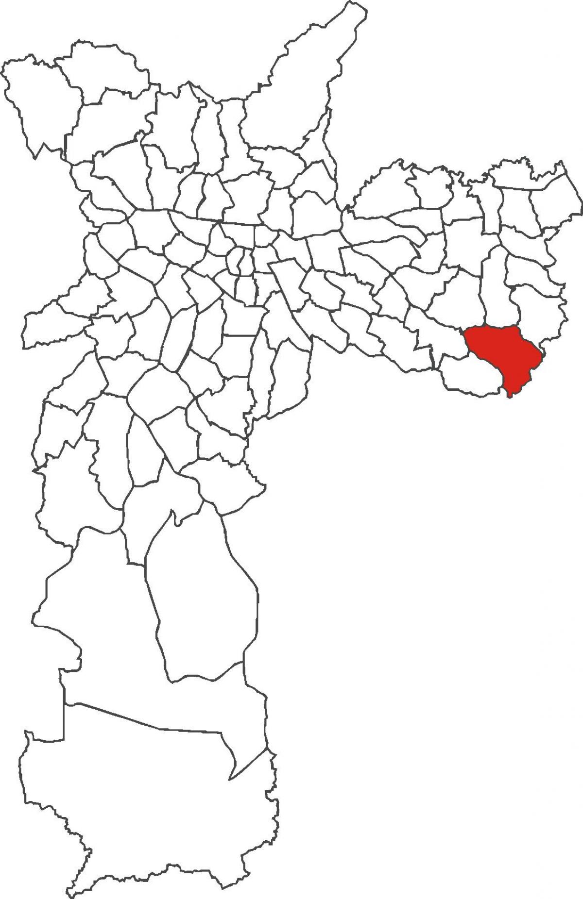 Map of Iguatemi district