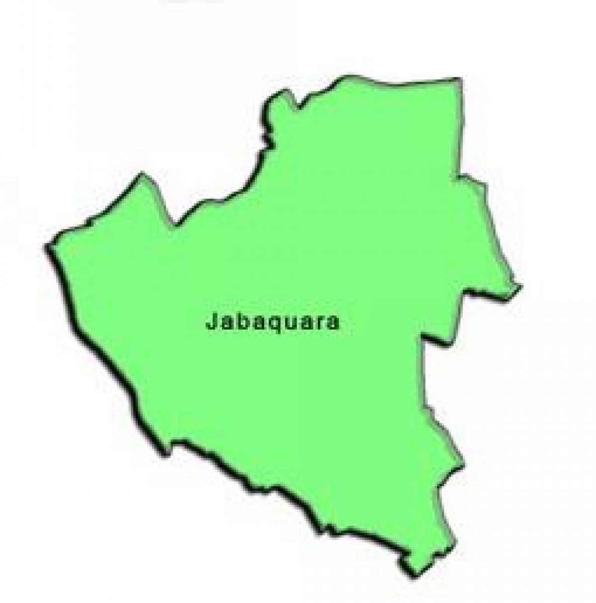 Map of Jabaquara sub-prefecture