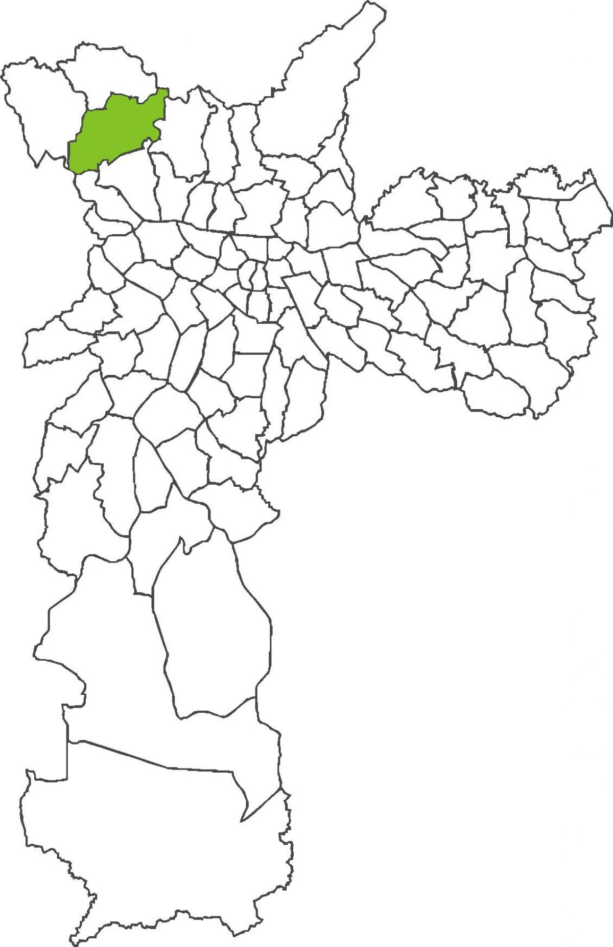 Map of Jaraguá district