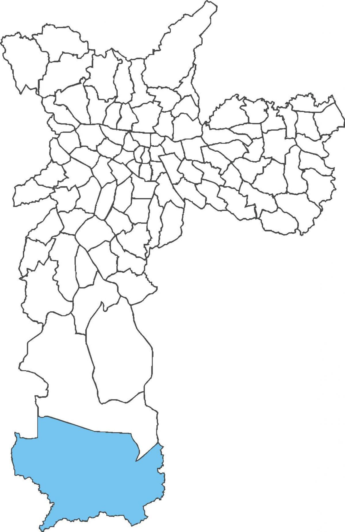 Map of Marsilac district