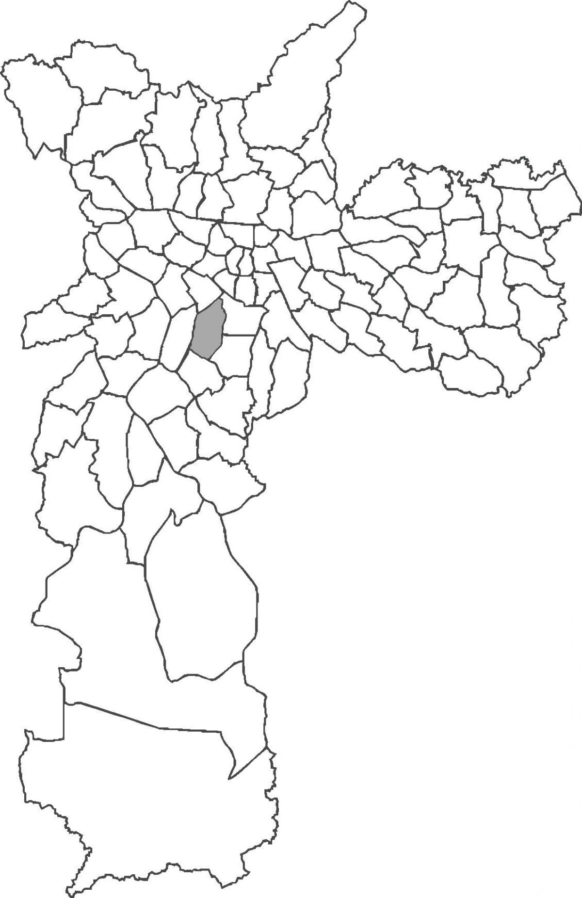 Map of Moema district