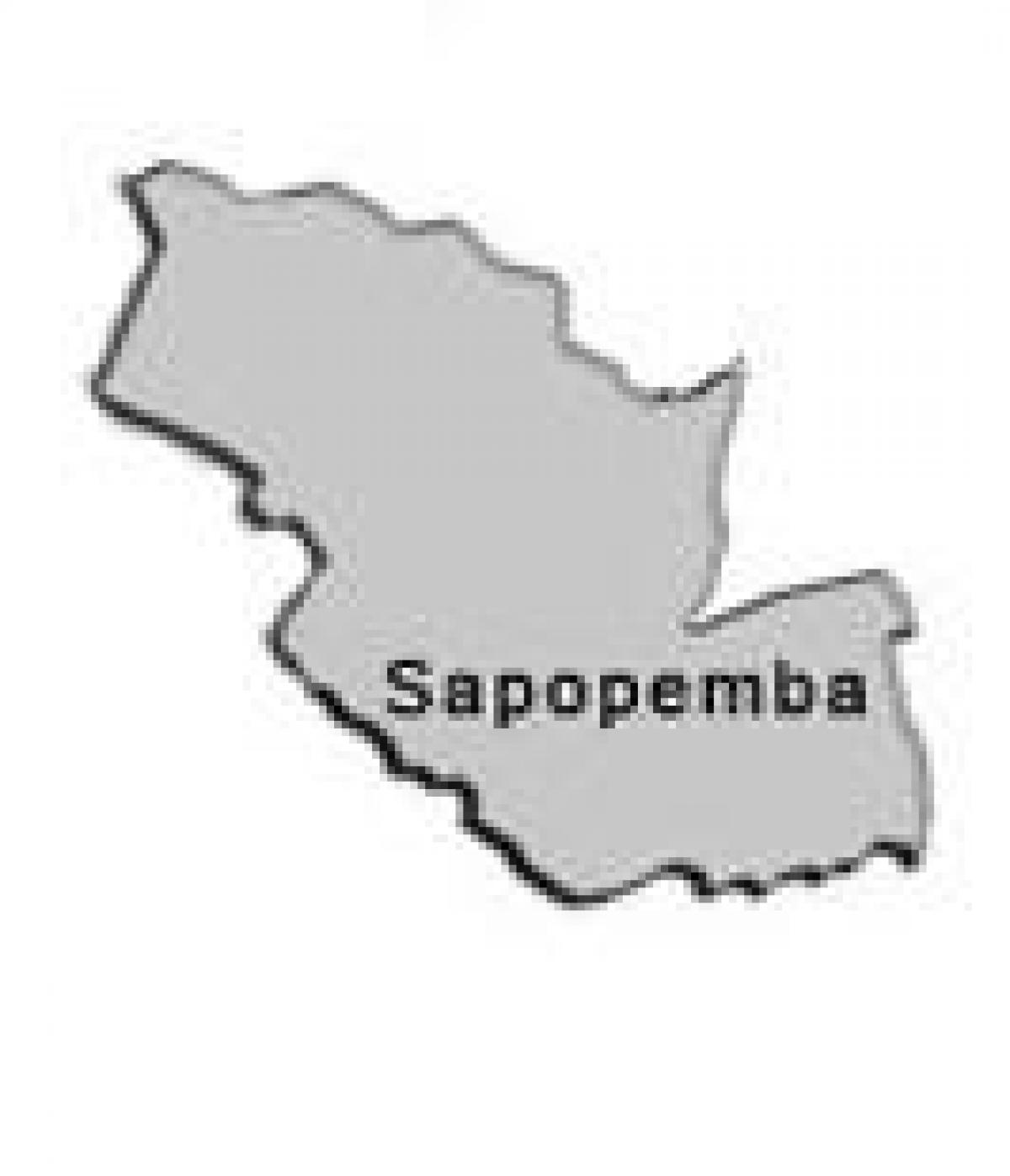 Map of Sapopembra sub-prefecture