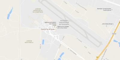 Map of VCP - Campinas airport