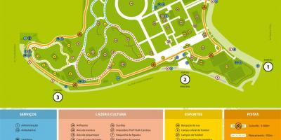 Map of Villa-Lobos park